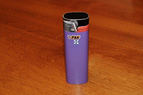 Purple Lighter decal for PAX2 vaporizers - glossy vinyl sticker
