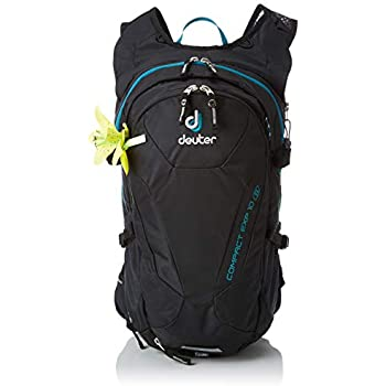 Deuter Compact EXP 10 SL Biking Backpack with Hydration System, Black