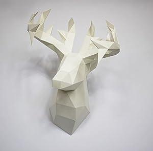 Deer Paper Craft Hunting Trophy S