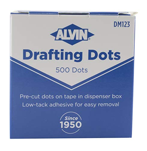 Alvin, DM123, Drafting Dots, 0.875
