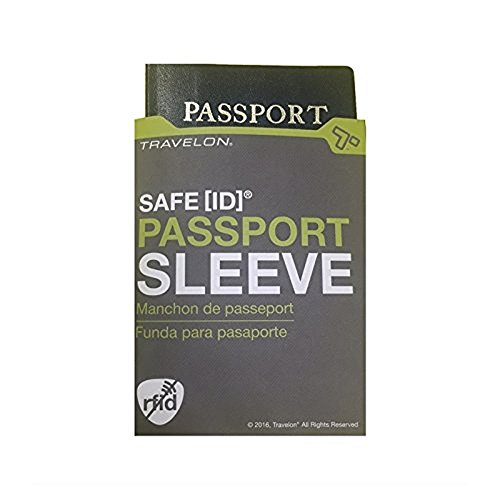Travelon Rfid Passport Sleeves, White, One Size