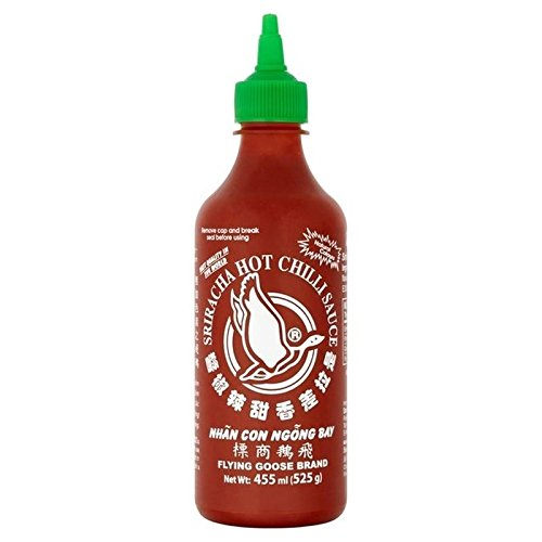 Flying Goose Sriracha Hot Chilli Sauce 455ml - Pack of 2