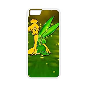 Tinkerbell iPhone 6 Plus 5.5 Inch Cell Phone Case White xlb-156668
