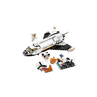 LEGO City Space Mars Research Shuttle 60226 Space Shuttle Toy Building Kit with Mars Rover and Astronaut Minifigures, Top STEM Toy for Boys and Girls (273 Pieces): Toys & Games