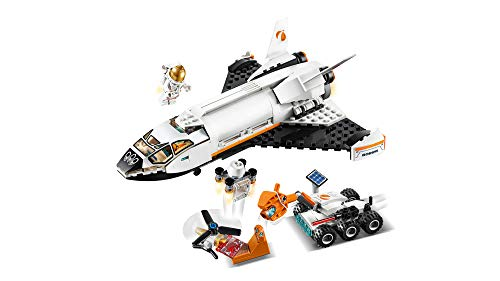 41RmCVgYDjL - LEGO City Space Mars Research Shuttle 60226 Space Shuttle Toy Building Kit with Mars Rover and Astronaut Minifigures, Top STEM Toy for Boys and Girls, New 2019 (273 Pieces)