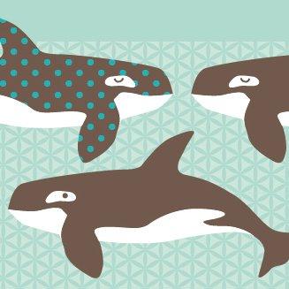 Anna Wand Bordure Selbstklebend All My Orcas Wandbordure