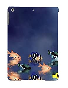 Bkvcdu-5684-efepedi Tpu Phone Case With Fashionable Look For Ipad Air - Animal Fish Case For Christmas Day's Gift