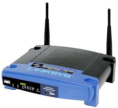 DD-WRT Mega - Linksys WRT54G-RG with Heatsink Router Repeater Bridge USB VPN Ready WiFi WAN Wireless N Access Point AP [DD-WRT PREINSTALLED]