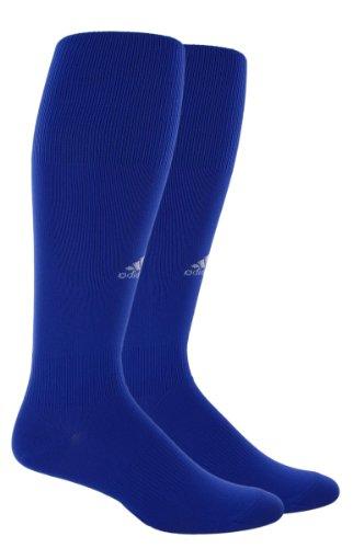 Adidas Soccer Socks (adidas Men's Metro III Soccer Sock (Cobalt/White, Large: Men's Shoe Size 9-13, Women's Shoe Size)
