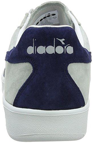 Diadora B.Elite Nub, Chaussures de Gymnastique Homme, Beige Gris (Gr Ghiacciaioblu Estate)