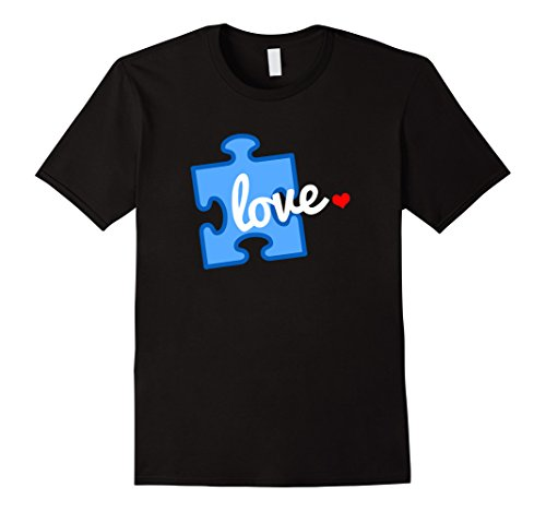 Men's Autism Awareness Puzzle Piece Autism T-Shirt Large ...