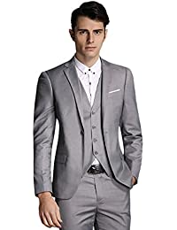 Amazon.com: Grey - Suits & Sport Coats / Clothing: Clothing, Shoes ...