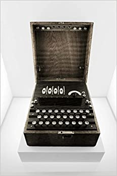 Book Enigma Rotor-Key Machine Journal: 150 Page Lined Notebook/Diary