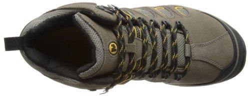 Merrell Chameleon 5 Mid Ventilator Gore-Tex - Botas de senderismo de cuero hombre - Boulder/Pale Yellow