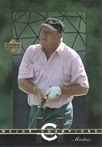 (2003 Upper Deck Golf Major Champions #5 Arnold Palmer 62 Masters)