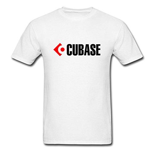 Price comparison product image MozFashion Men's Cubase design T-Shirts white Small