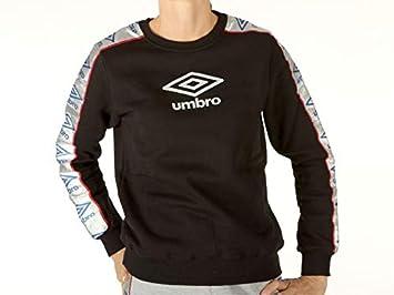 Umbro - Sudadera de algodón para Mujer, Talla S, Color Negro: Amazon.es: Deportes y aire libre