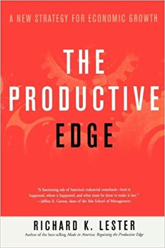 image for The Productive Edge: A New Strategy for Economic Growth by Richard K. Lester (2000-07-17)