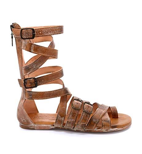 bed stu Women's Seneca Gladiator Sandal, Tan Rustic, 8 M US ()