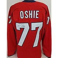 $170 » Signed T.J. Oshie Jersey - Custom TSE COA - Autographed NHL Jerseys