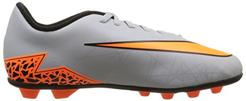 Nike Herren, jr Hypervenom Phade ii FG-r, Mehrfarbig (Wolf Grey/Total Orange-blk-blk) mehrfarbig (Wolf Grey/Total Orange-Blk-Blk)