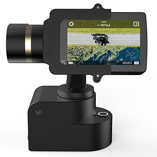 yi 4k action camera bundled 3 axis gimbal stabilizer selfie stick bluetooth r. Black Bedroom Furniture Sets. Home Design Ideas