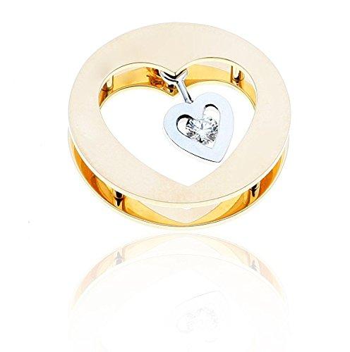 BOOM - Pendentif Diamant - Or 18 carat - Poids du diamant: 0.12 carat - www.diamants-perles.com