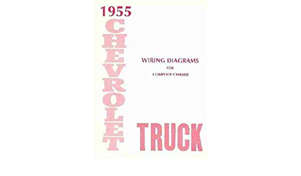 1955 CHEVROLET TRUCK & PICKUP COMPLETE 10 PAGE SET OF ... on