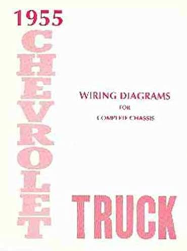 1955 chevy 2nd series truck wiring diagram manual reprint 57 chevy wiring diagram wiring diagram