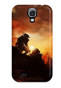 Logan E. Speck's Shop Discount 9103728K39907849 Hot Design Premium Tpu Case Cover Galaxy S4 Protection Case(guild Wars)
