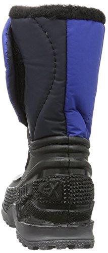 Lico Terra, Botas de Nieve Unisex Niños Negro (Schwarz/blau)