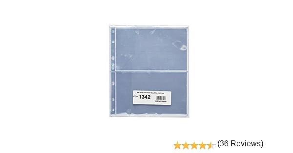 Pardo 134200 - Pack 10 fundas billetes universales, 2 departamentos: Amazon.es: Oficina y papelería