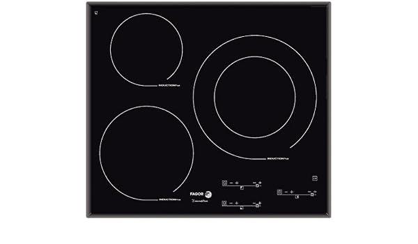 Fagor IFT-3S - Placa (Incorporado, indución eléctrica ...