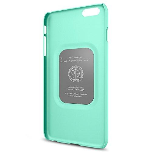 Spigen Schutzhülle für iPhone 6 PLUS / 6S PLUS Hülle THIN FIT - passgenaues Premium-Case für iPhone 6 PLUS / 6S PLUS, Tasche in mint [Mint- SGP11639]