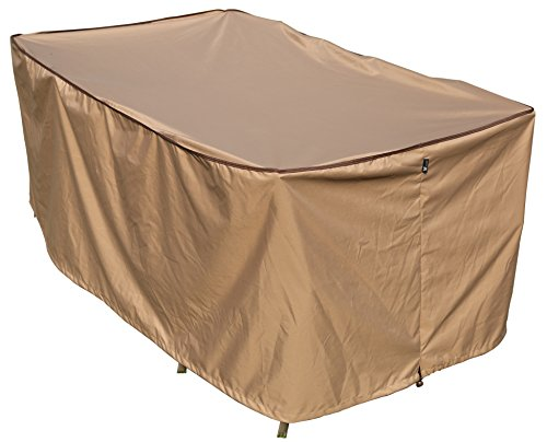 SORARA Rectangular Table and Chair Set Cover Outdoor Porch Furniture Cover, Water Proof, All Weather Protection, 128 L x 82 W x 36 H