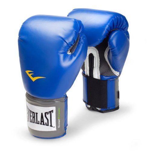 Everlast Pro Style Boxing Gloves (Blue, 16 oz.) by Everlast