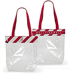 Alabama Crimson Tide Clear Gameday Stadium Tote Bag