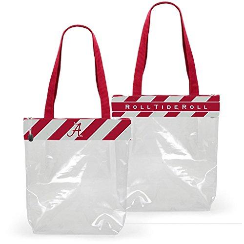 Alabama Crimson Tide Clear Gameday Stadium Tote Bag