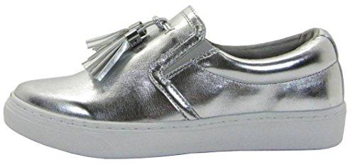 Soda Donna Sneaker Sneaker Fashion Flatform Con Nappa A Punta Smussata