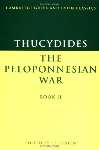 Thucydides: Pelop War Book 2 (Cambridge Greek and Latin Classics)