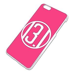 13.1 Miles Half Marathon Pink Slim Fit Hard Case Fits Apple iPhone 6 Plus