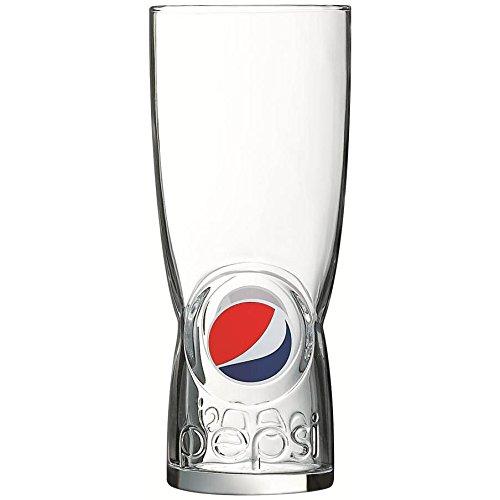 Pepsi Glasses (Tuff-Luv Pepsi 'Breath Taking' Original Glass / Glasses / Barware CE 450ml)