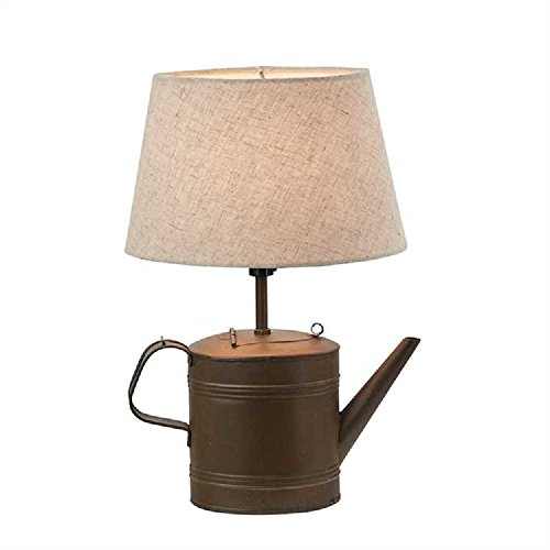 - Park Designs Early Tin Tea Kettle with shade Metal Lamp Lighting Products