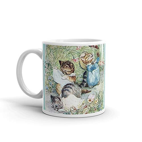 rangerpolocon Tom. Moppet and Mittens Kitten - Beatrix Potter 11Oz Ceramic Coffee Mugs Cup Tea Gifts For Men & Women