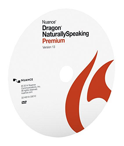 Nuance Dragon NaturallySpeaking Premium 13, Disc Only ()