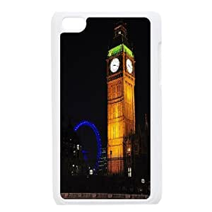 [MEIYING DIY CASE] FOR IPod Touch 4th -Big Ben At London Pattern-IKAI0447342