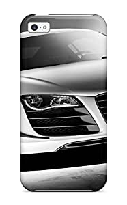 LJF phone case New Premium Flip Case Cover Audi R8 Gt 7 Skin Case For ipod touch 5