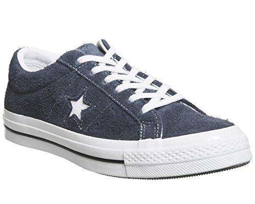 Converse One Star OX Herren Sneaker Blau Blue