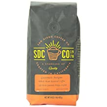San Diego Coffee Guatemala Antigua, Whole Bean Roasted Coffee, 16-Ounce (1-Pound)