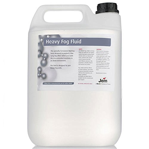Martin Jem Heavy Fog Fluid B2 Mix 5 Liter (1.32 (Martin Fog Machine)
